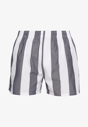 Pyjamabroek - white/dark blue