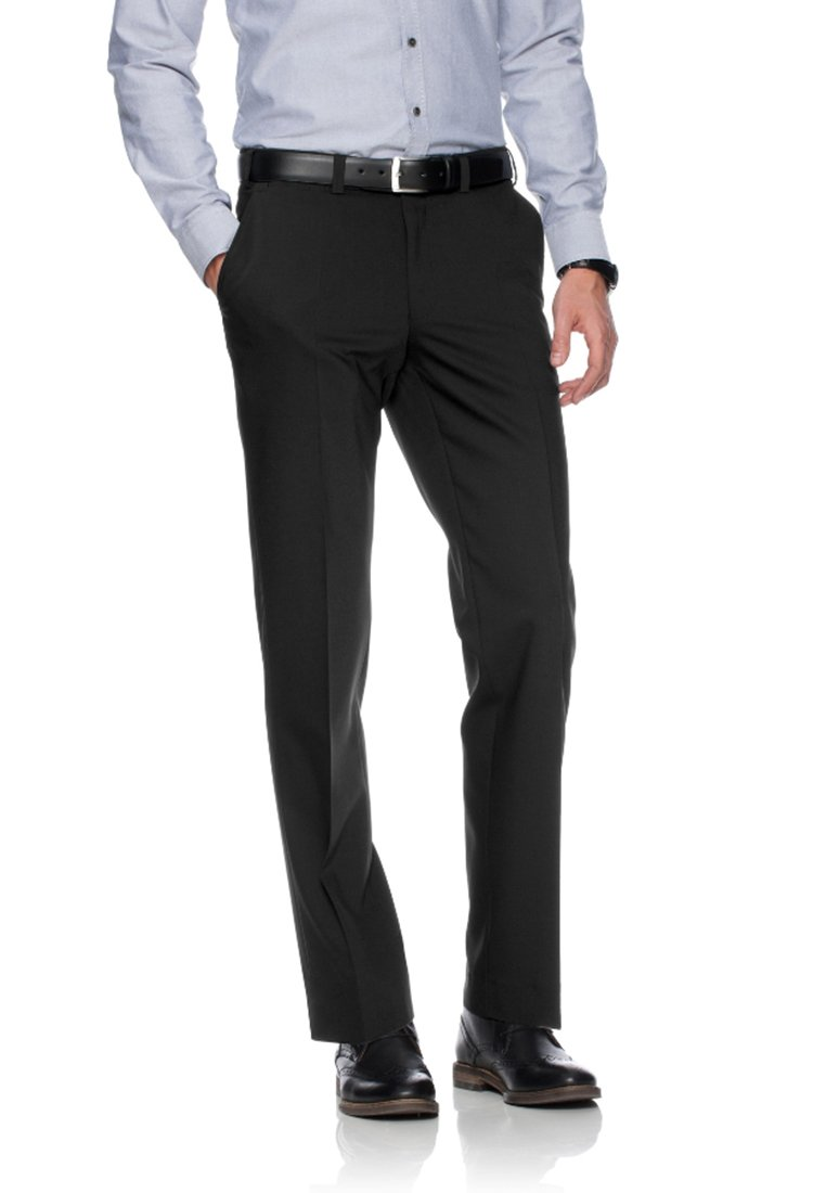 BRAX - JAN  HERRENHOSE FLATFRONT - Pantaloni eleganti - black