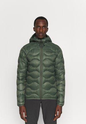 HELIUM HOOD JACKET - Down jacket - thrill green