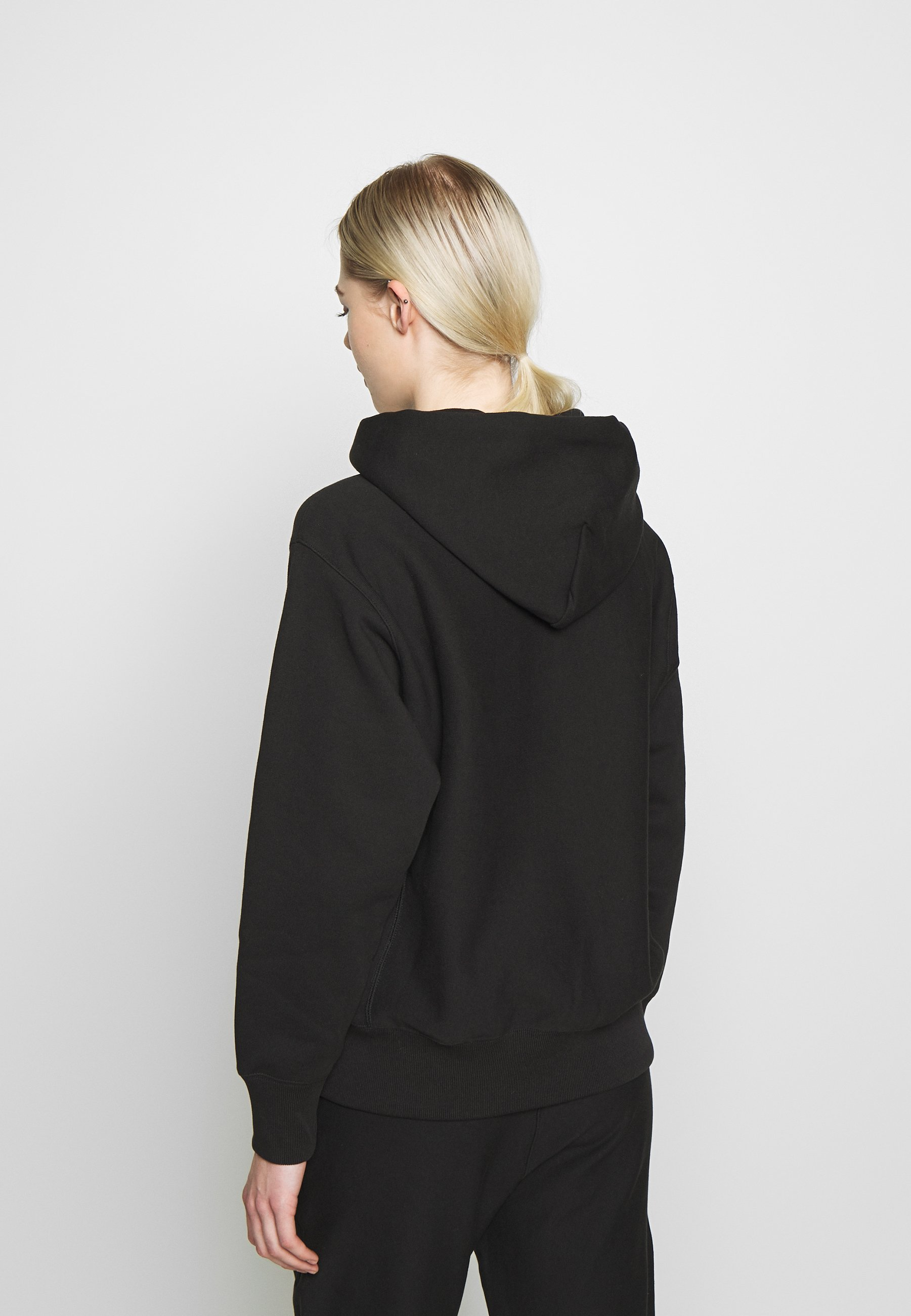 Wholesale Women's Clothing Champion Reverse Weave HOODED Hoodie black sSjod4psr