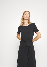 Object - OBJANNIE NADIA DRESS - Maxikjole - black - 3