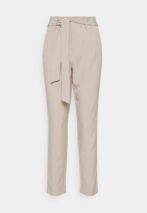 ONLELLY LIFE BELT PANT - Trousers - humus