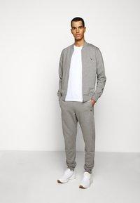 PS Paul Smith - MENS ZIP - Zip-up hoodie - mottled grey - 1