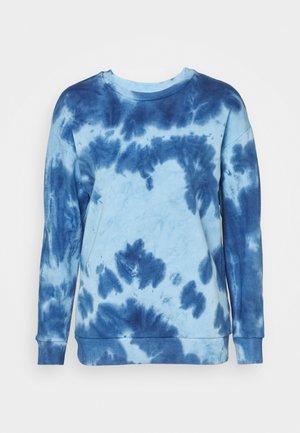 TIE DYE - Sweatshirt - blue