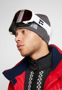 Flaxta - PLENTY - Gogle narciarskie - white - 1