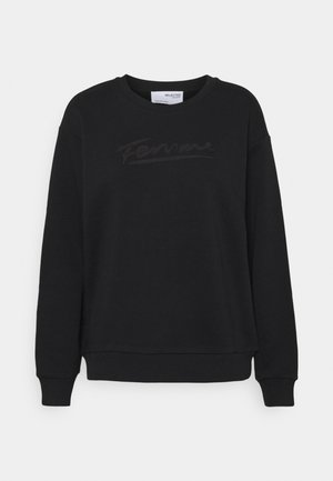 SLFARTISTA CAMILLE  - Sweatshirt - black