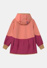 Finkid - AINA MOVE UNISEX - Waterproof jacket - rose/cinnamon - 1