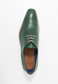 Lloyd - FELTON - Lace-ups - dark green - 1