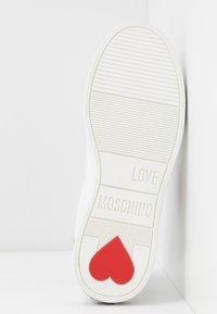 Love Moschino - Matalavartiset tennarit - white - 6