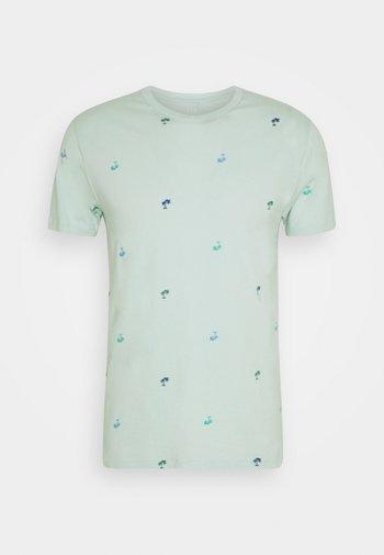 CREW CRITTER  - Print T-shirt - orange