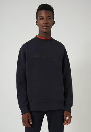 B-OODI CREW - Sweatshirt - blu marine