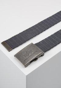 Alpha Industries - HEAVY DUTY BELT - Belt - grey - 2