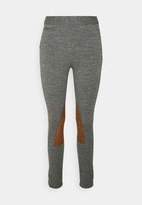 JOD ANKLE FLAT FRONT - Pantaloni - heather stylem