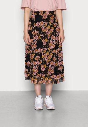 VIGORGEOUS  - A-line skirt - black