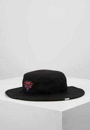 SUMA TIME WIDE BRIM BUCKET HAT - Bonnet - black