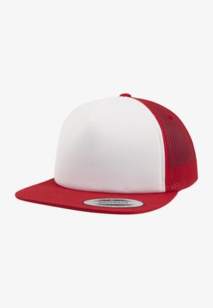 FOAM TRUCKER - Cap - red/wht/red
