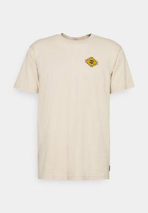 SANDWAVE - Print T-shirt - natural