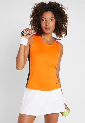 RACERBACK ASHLEY - Funktionsshirt - orange peel