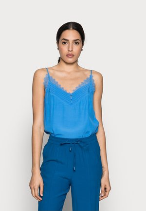 SUMMER DEB - Top - bleu fanion