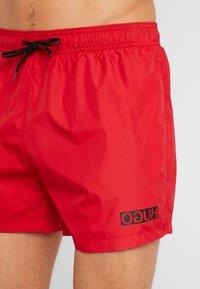 HUGO - HAITI - Shorts da mare - red - 3