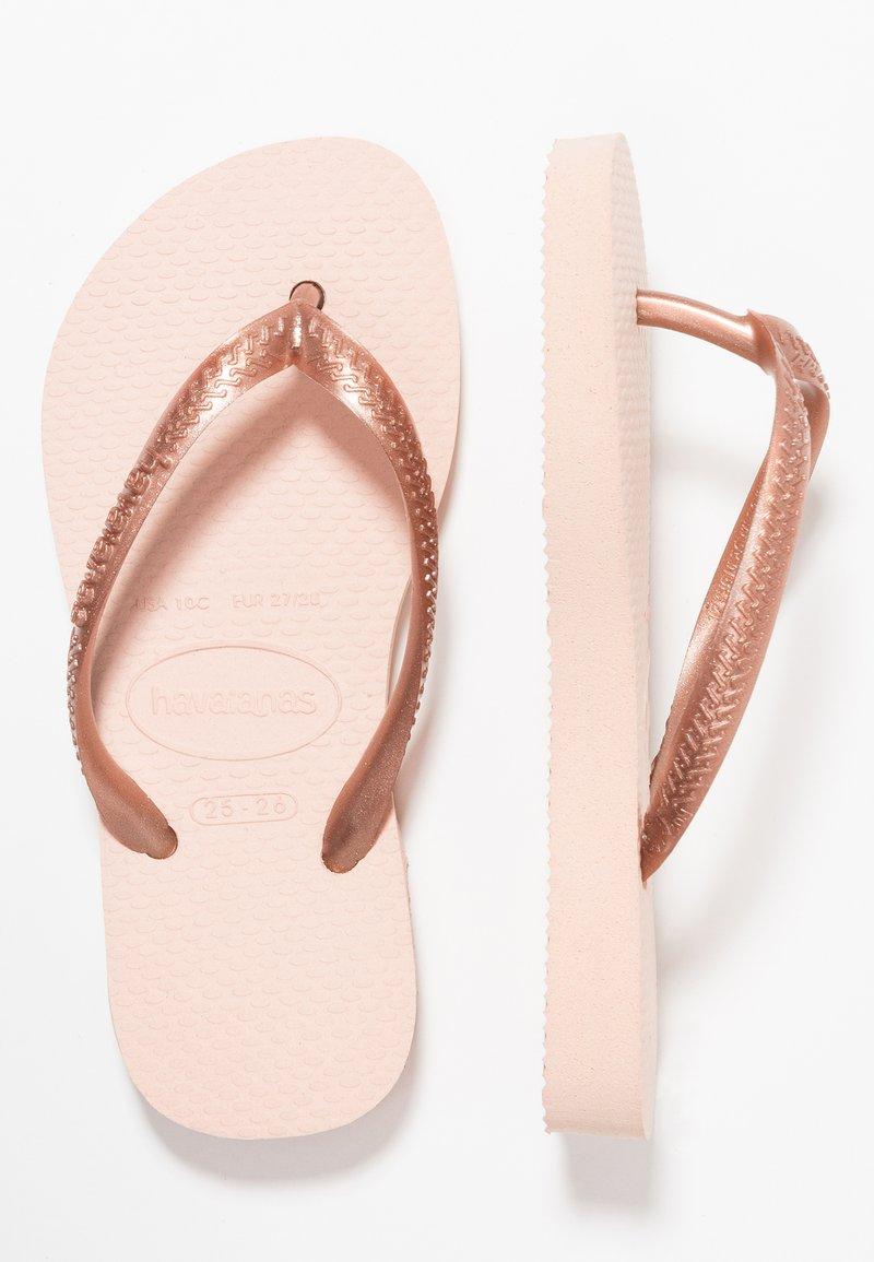 Havaianas - KIDS SLIM - Pool shoes - ballet rose