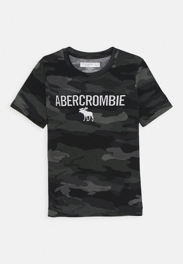 TECH LOGO - T-shirts print - black