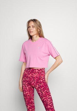 MARI CROPPED TEE - Print T-shirt - moonlite mauve