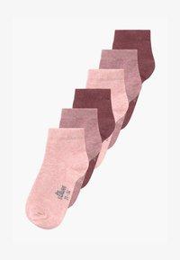 ONLINE JUNIOR ORIGINAL QUARTER 6 PACK - Socks - chalk pink