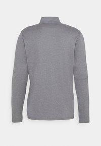 adidas Golf - THREE STRIPE ZIP LEFT CHEST - Sweatshirt - grey three melange - 1