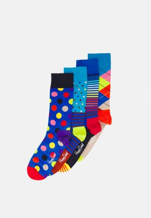 CLASSIC SOCKS GIFT SET UNISEX 4 PACK - Socks - multi