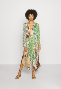 Desigual - WOMAN DRESS - Maxi-jurk - viejo cactus - 1