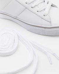 Polo Ralph Lauren - SAYER - Matalavartiset tennarit - white - 5