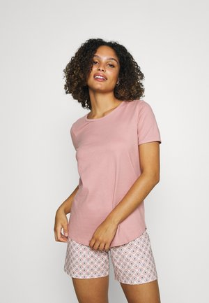 LOVELY NIGHTS SHORT SET - Pyjamas - rose bud