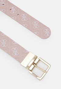 Guess - TYREN PANT BELT - Belt - blush - 1