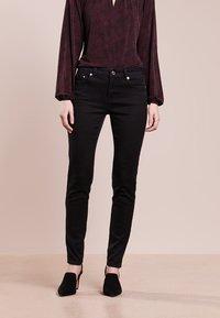 MICHAEL Michael Kors - SELMA SKINNY - Jeans Skinny Fit - black - 0