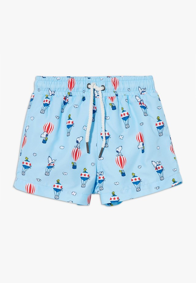 BOYS SNOOPY SWIM SHORT - Surfshorts - blue