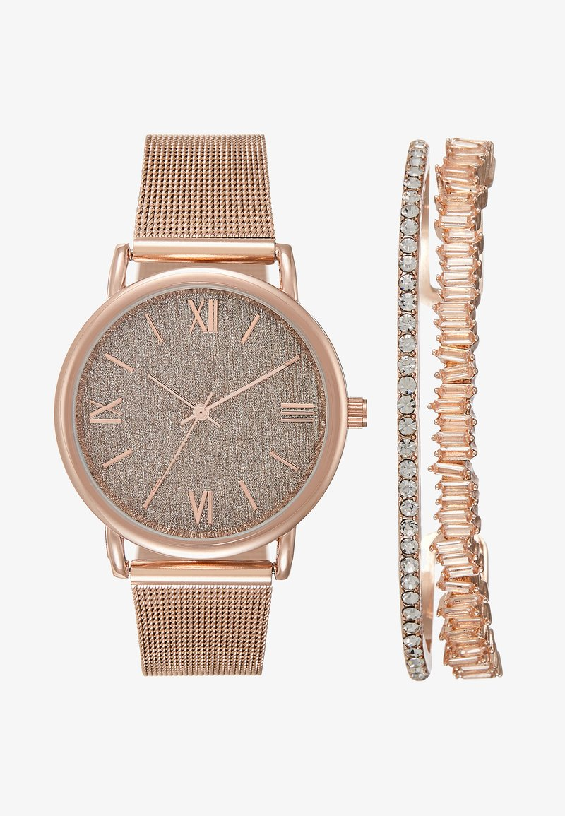 Anna Field - SET - Hodinky - rose gold-coloured