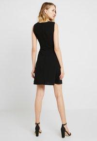 WAL G. - BUST SKATER DRESS - Cocktail dress / Party dress - black - 2