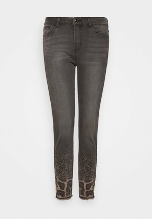 SHELLEY - Vaqueros slim fit - denim dark