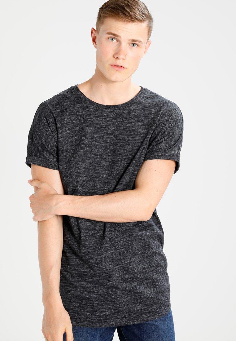 Men HIGHLY SPACE DYE LONG TURN UP TEE - Print T-shirt