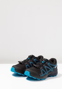Salomon - SPEEDCROSS - Zapatillas de senderismo - black/graphite/hawaiian - 3