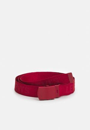 TONAL TICKFAW WEB BELT - Belt - regular red
