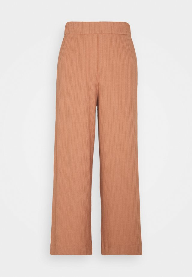 CILLA TROUSERS - Kangashousut - red