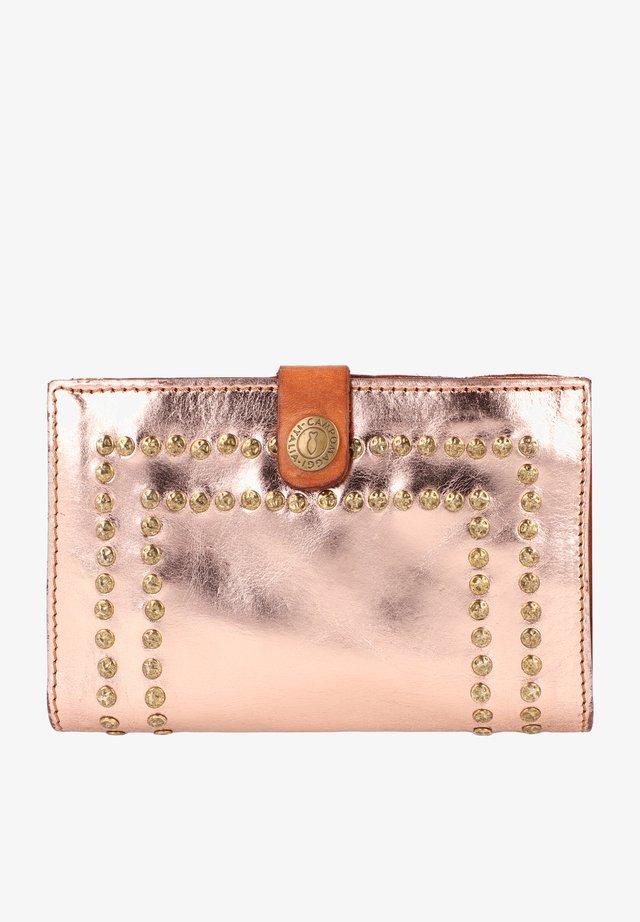 Wallet - cipria t/cognac
