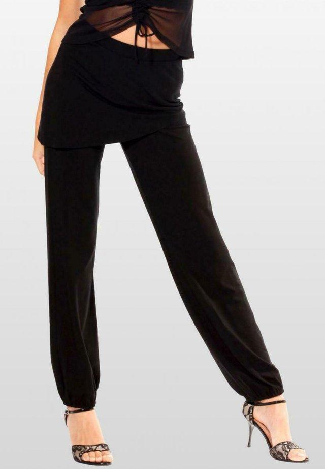 SIENA - Trousers - schwarz