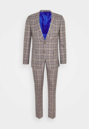 GENTS TAILORED FIT BUTTON SUIT - Garnitur - beige