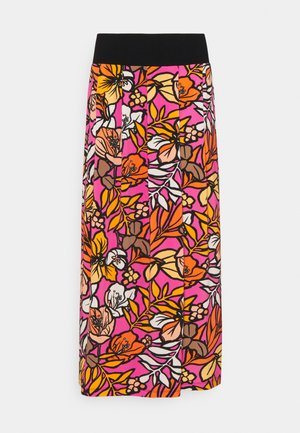 A-line skirt - shocking pink
