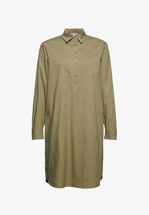 Shirt dress - light khaki