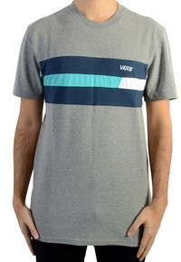 Vans - NINETY THREE CEMENT - T-shirt imprimé - gris - 0