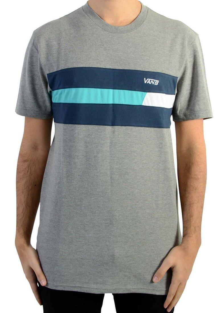 Vans - NINETY THREE CEMENT - T-shirt imprimé - gris